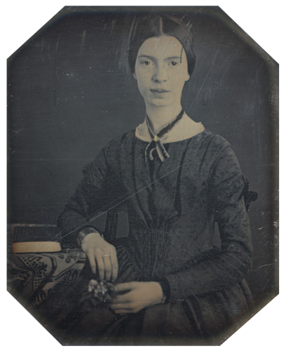 Emily Dickinson at age 17