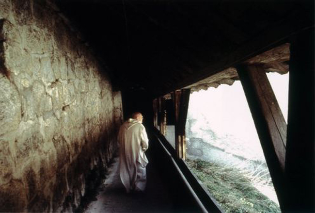 still from the film Into Great Silence
