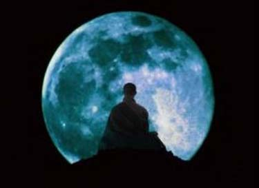 meditation under the moon