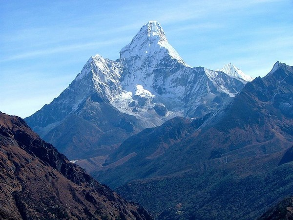 Ama Dablam in the Himalayas