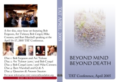 Cover of Beyond Mind, Beyond Death DVD