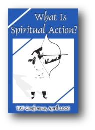 Click for large cover image of 'What is Spiritual Action?'