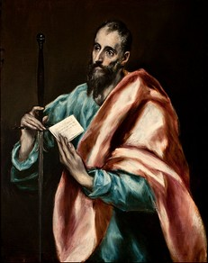 St. Paul, by El Greco