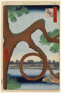 Moonpine, by Hiroshige