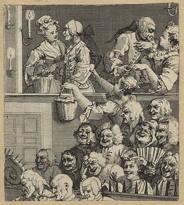 Hogarth, 'Laughing, or a Pleased Audience'