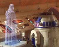 Star Wars Obi-Wan hologram