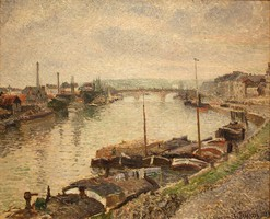 Stone Bridge, by Pissarro