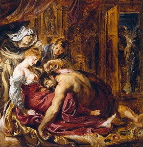 Samson and Delilah, by Rubens