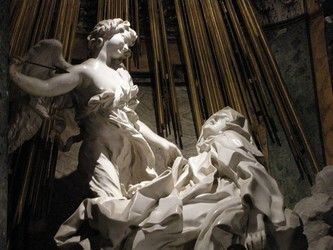 Ecstasy of St. Theresa, by Bernini