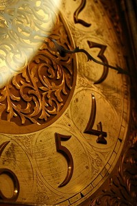 Waters Bldg - grandfather clock face