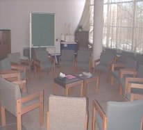 spiritual event training room