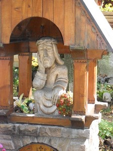 contemplative Christ of Zakopane