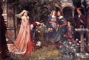 enchanted garden - Waterhouse