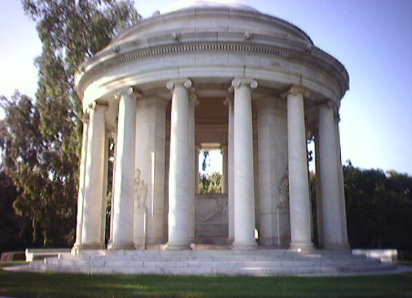 The Huntington mausoleum