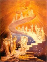Jacob's Ladder by Wm Blake