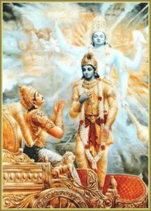 Krishna tells Arjuna about the real doer