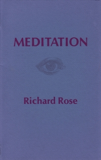 Cover of Meditation by Richard Rose