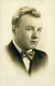 Richard Rose in 1934, age 17
